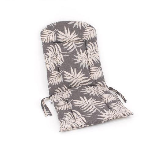 Smeđa sjedalica za vrtnu garnituru s motivom lišća idealno za ljetne terase