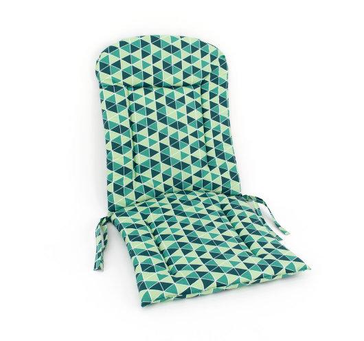 dvodijelni jastuk za vrtnu garnituru zelene boje