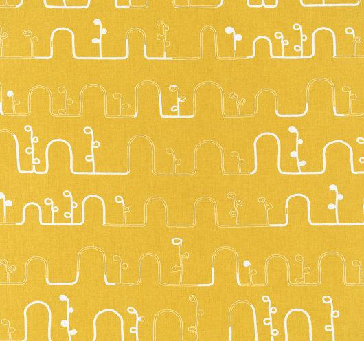 Pamuk metraža žute boje