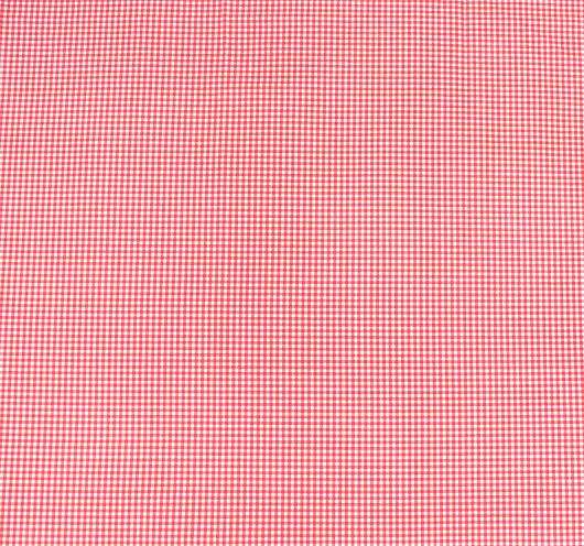 Crveni karirani dezen.