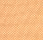 Narančasta tkanina na bež točkice.