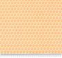 Bež tkanina s motivom narančastih cvjetića.