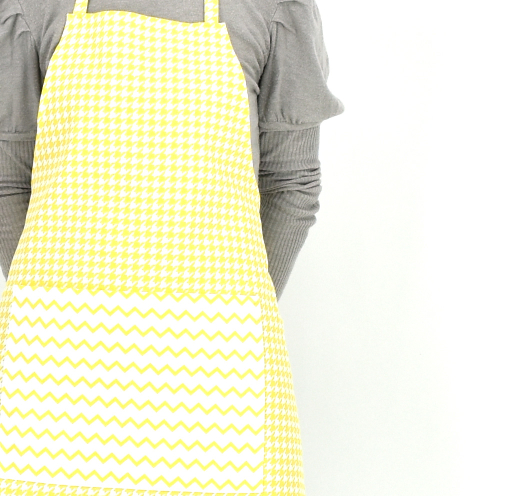 Pregača žutog pepita dezena