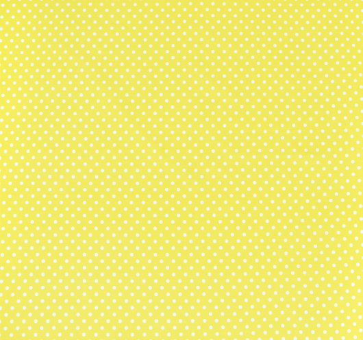 Žuta tkanina s bijelim točkicama.