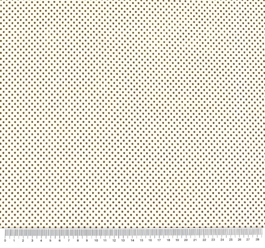 Dezen bež tkanine sa smeđim točkicama.