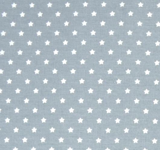 Dezen božićne sive tkanine stiskanim bijelim zvjezdicama