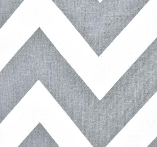 Uzorak tkanine sivo-bijelog cik-cak dezena