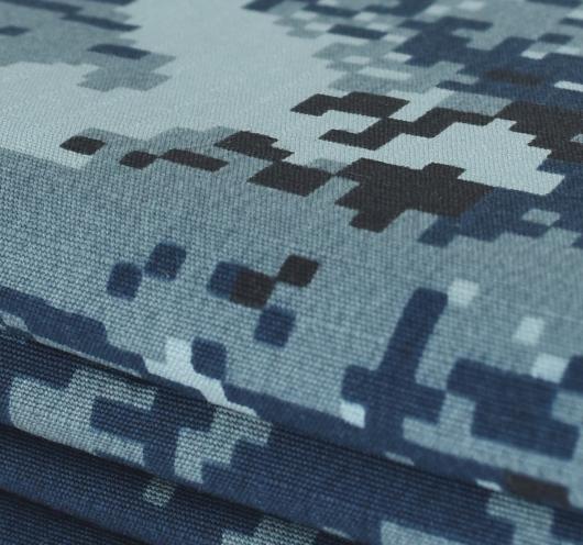 Maskirna tkanina hrvatske ratne mornarice.